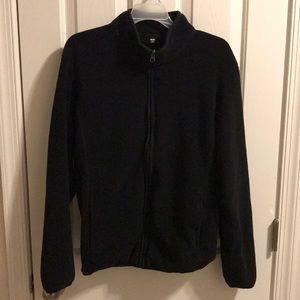 Uniqlo M Black Zip Up Jacket